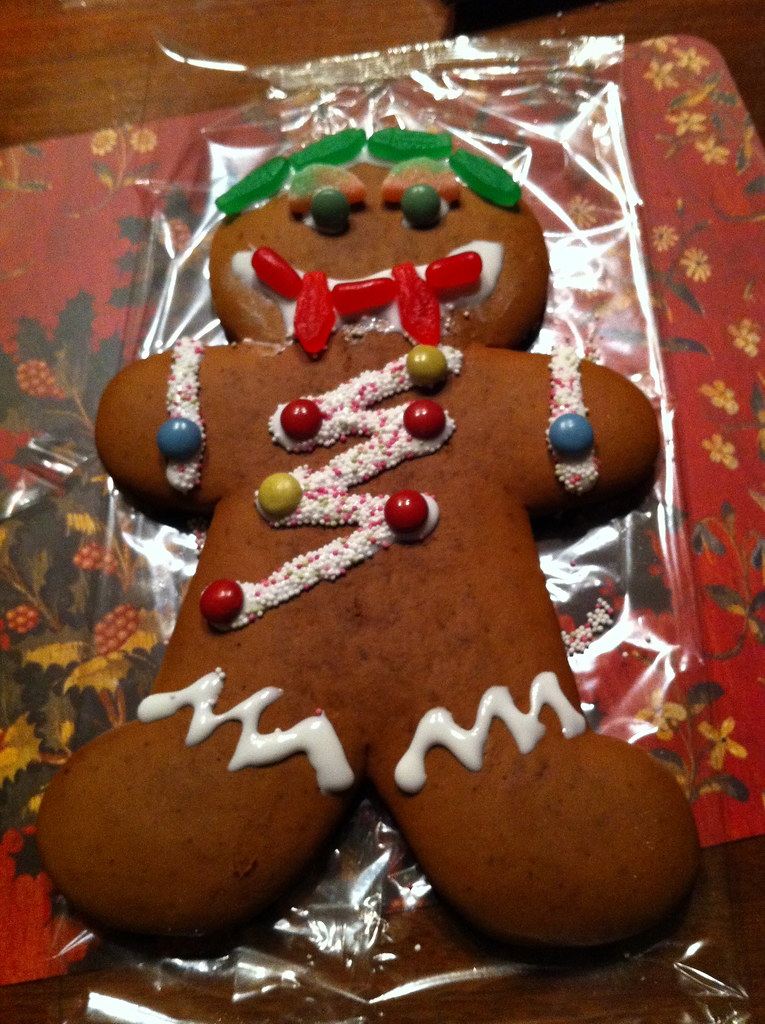 Gingerbread vampire