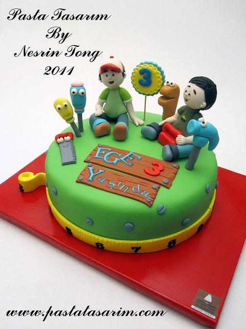 HANDY MANNY CAKE - EGE BIRTHDAY