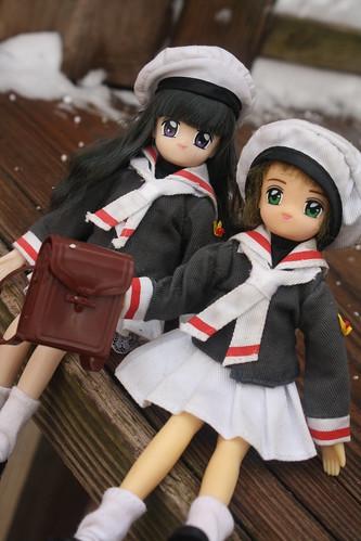 14/365- Cardcaptor Sakura- Sakura and Tomoyo dolls