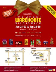 Cocoaland's Great Warehouse Sales