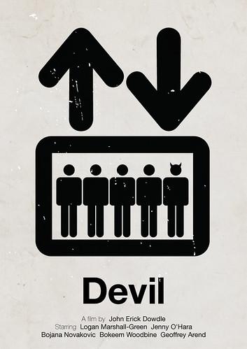 'Devil' pictogram movie poster