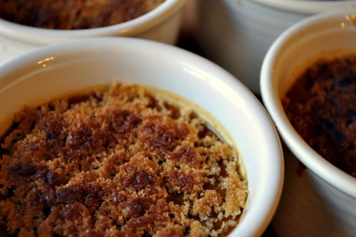 Pumpkin and Brown Sugar Creme Brulee