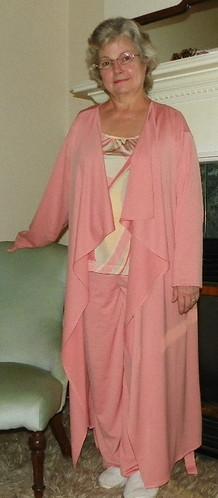 Robe, Top & Bottoms