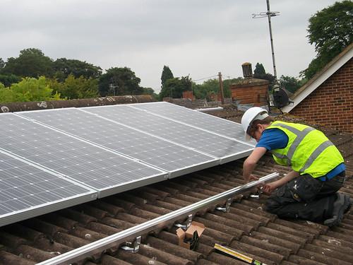 Solar panels installed by Engensa
