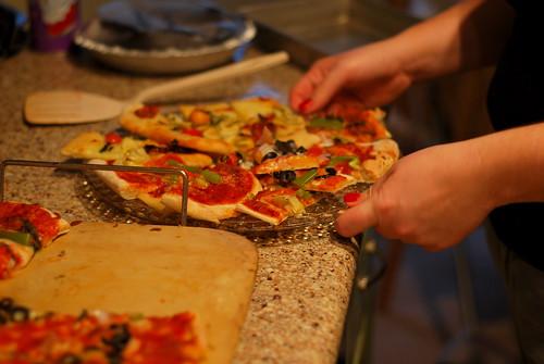 plate o' pizzas