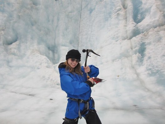 Ice Climbing Franz Josef Glacier Ice Pick