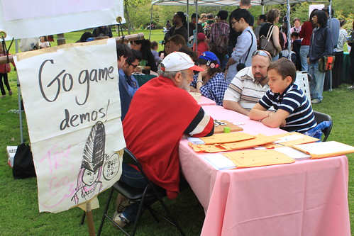 Brooklyn Botanical Gardens - Go Game Demos