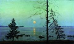 Cherbyshev, Nikolai - Night at Lakr Senezh  - s.d.
