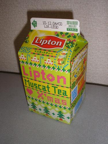 Lipton Muscat Tea X'mas edition
