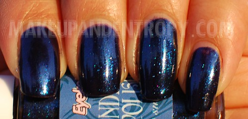 Eyeko Indigo polish closeup