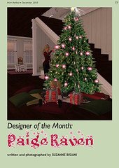 Prim Perfect: No 30 - Designer of the Month - Paige Raven