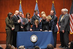 US Congress picture, nancy pelosi, politicians together, group of politicians, bill signing, pass the bill,