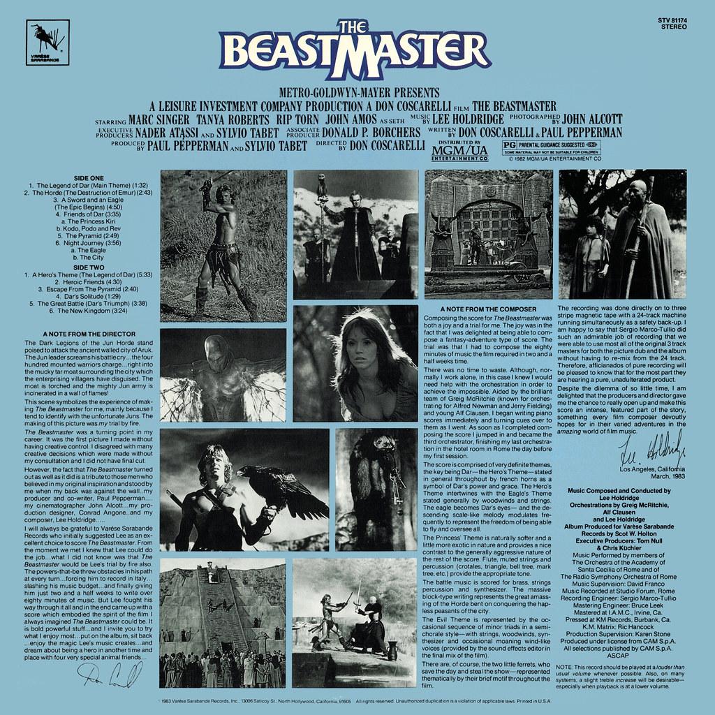 Lee Holdridge - The Beastmaster