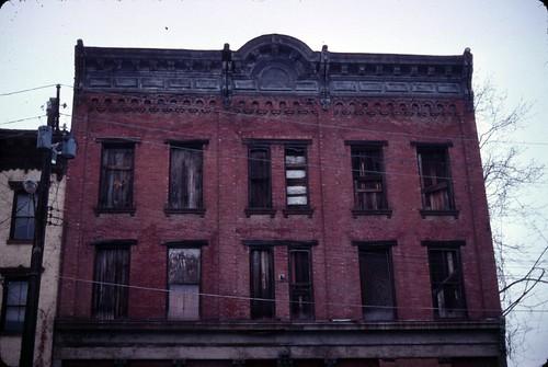 Broadway distressed building, December 26, 2010 - my final Kodachrome shots