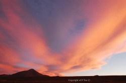 Bolivia sunset