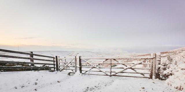 Gateway To The Big Freeze - Bradshaw Moor, Holmfirth