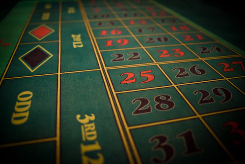 Roulette table by Håkan Dahlström, on Flickr