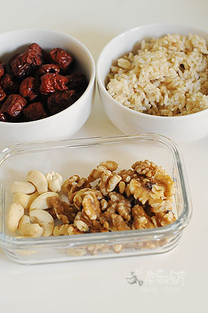 紅棗 核桃 腰果 糙米