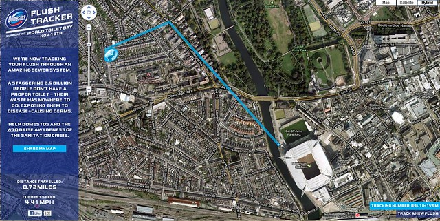 Cardiff Flush Track