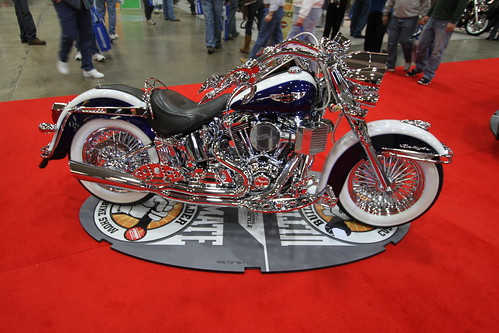 Jason Bochniak Harley @ Ultimate Builder Custom Bike Show