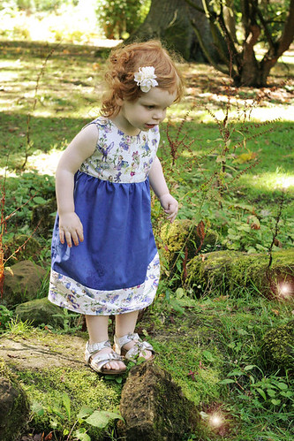A Hollie-in-Bloom dress - photo by Gingerlillytea