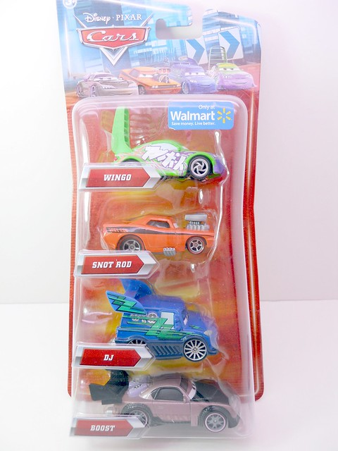 disney cars wal mart exclusive tunerz 4 pack  (1)