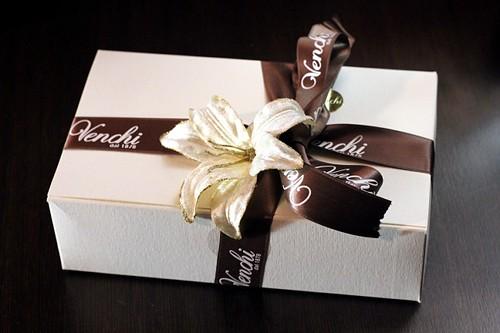 Venchi Italian chocolate gift box