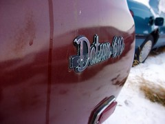 1973 Datsun 610 station wagon badge