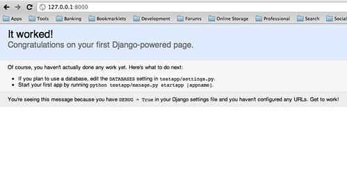 Django Testapp