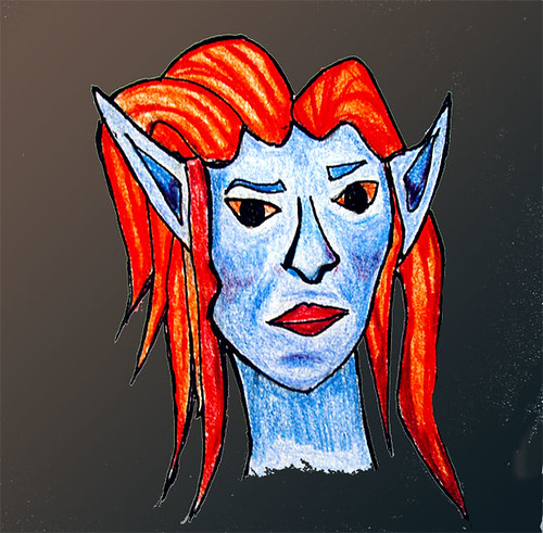 Blue elf prince