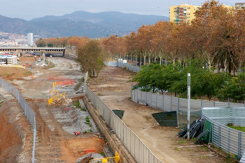 Ronda Sant Martí desde puente Calatrava 01 - 09-12-10