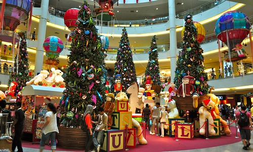 Christmas Decorations @ Mid Valley Megamall (1)
