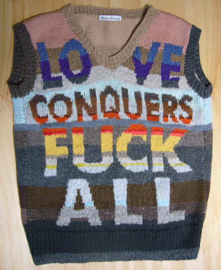 Love Conquers F*ck All vest