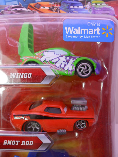 disney cars wal mart exclusive tunerz 4 pack  (2)
