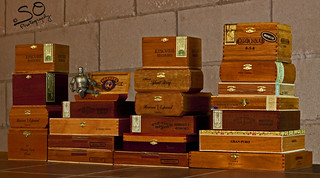 Cigar Boxes in the Basement