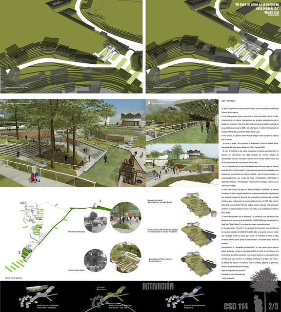 3 Concurso de Anteproyecto para la Integración Urbana del Centro Simón Díaz