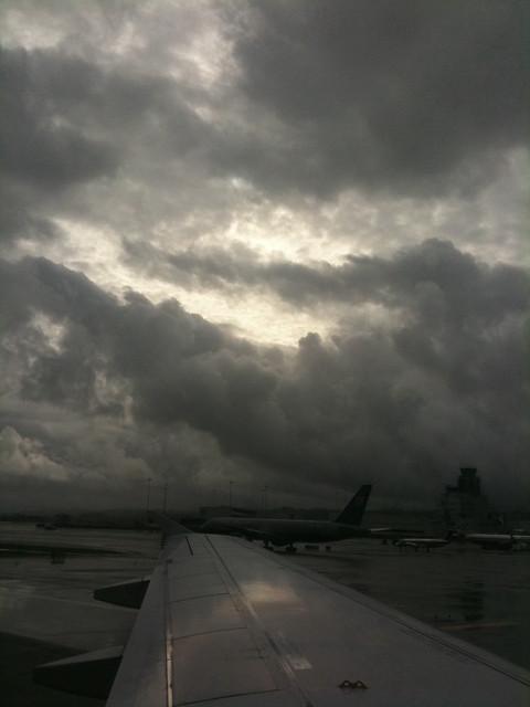 Clouds over SFO