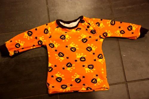 Lion shirt, 80cm