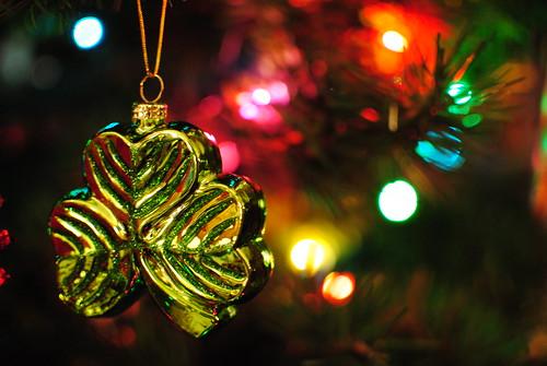Shamrock ornament