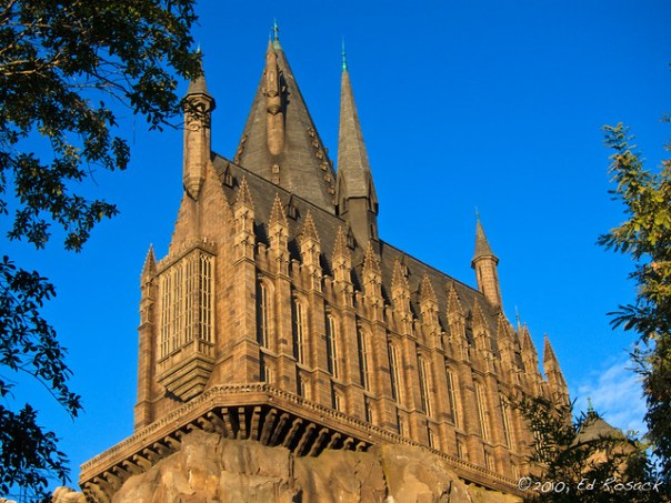 Dawn at Hogwarts Castle