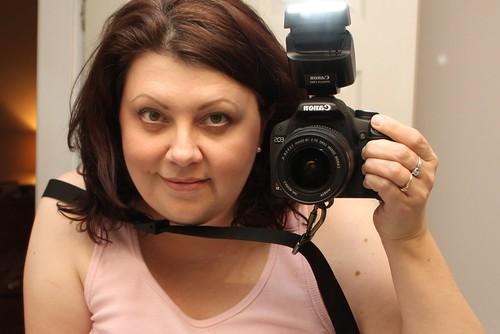 New flash and camera strap yay!