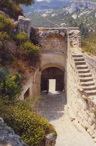 Les Baux doorway