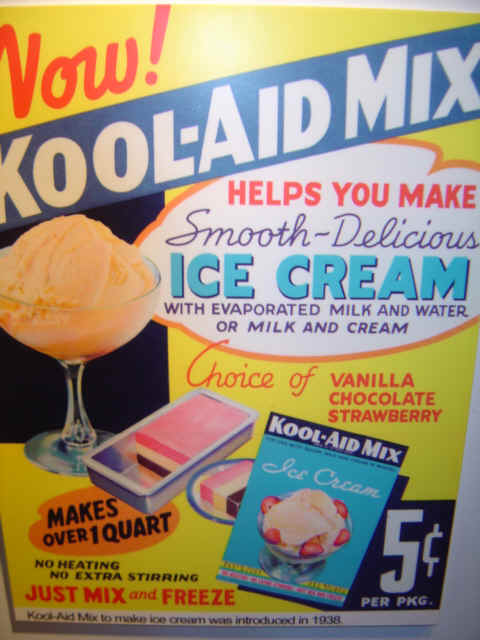 Kool-Aid Ice Cream Mix