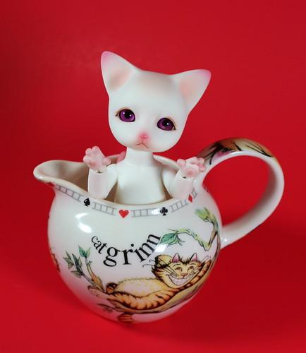 Phyzzlpyph in the Cheshire Cat Creamer