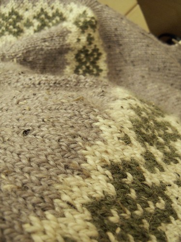 colorwork closeup