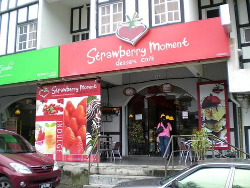 Strawberry Moment dessert cafe, Cameron Highlands