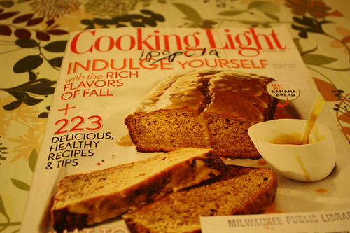 Cooking Light October 2010