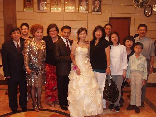 Alicia's Bintulu wedding reception 1