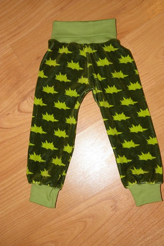 Hedgehog pants, size 80cm