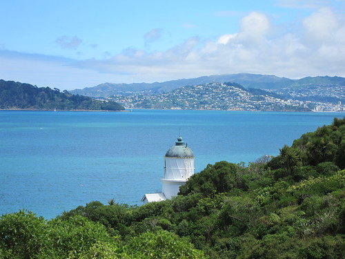 The lighthouse on Matiu/Somes Island